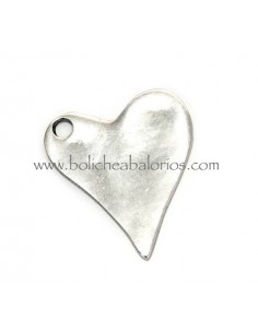 Colgante Corazon Liso 33 mm