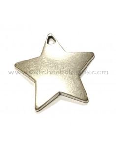 Colgante Estrella 50mm Para Grabar