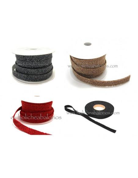 Tira caviar plana 10 mm