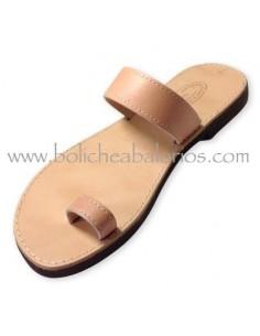 Sandalias de Piel para Decorar