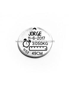 Medalla Natalicio 25 mm