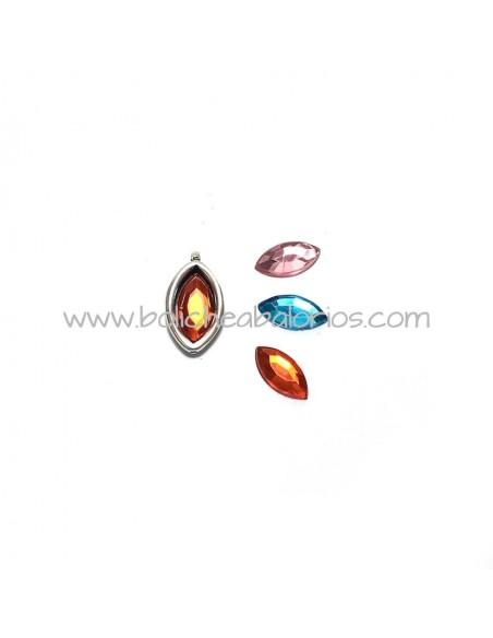 Base Oval Plexyglass de 10x5mm