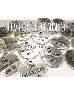 Servicio de Grabado hasta 20 Caracteres