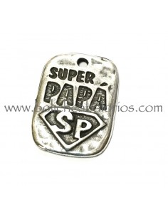 Colgante rectangular Super Papa