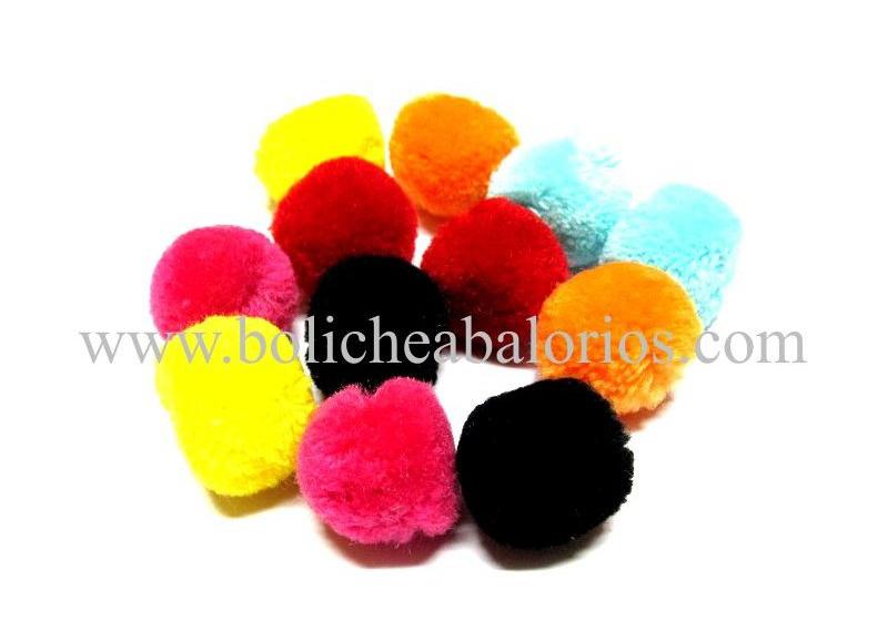 Pompones de algodón