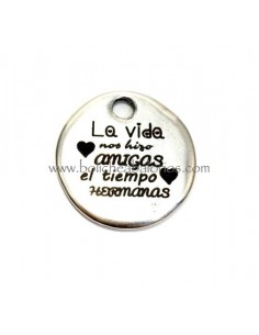 "Moneda ""Amigas Hermanas"" 20mm Zamak"