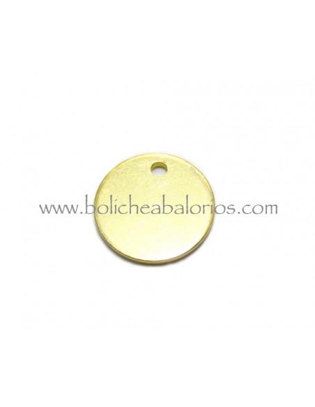 Moneda de Latón de 12mm Dorada