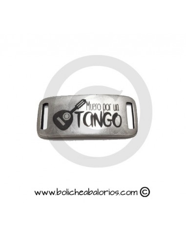 """Conector Pulsera """"Muero por un tango"""""""