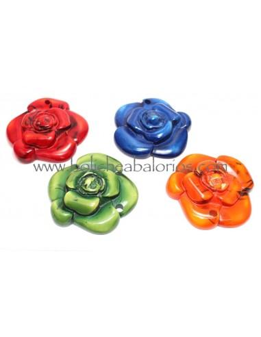 Colgante de Flor de Resina