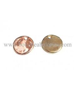 Moneda de Zamak 20 mm Baño de Oro Rosa