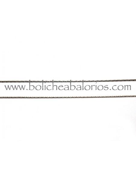 Cadenas de Plata de Ley Tipo Cordón