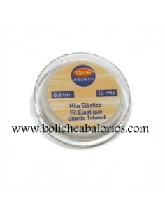 Hilo Elástico Transparente 0.60mm