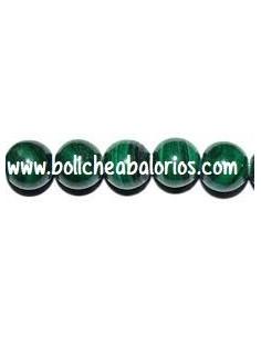 Cuentas Bola de Malaquita