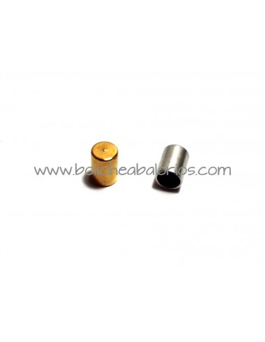 Tapon en forma de tubo int 4 mm