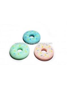 Mordedor Donut de Silicona Chupeteros