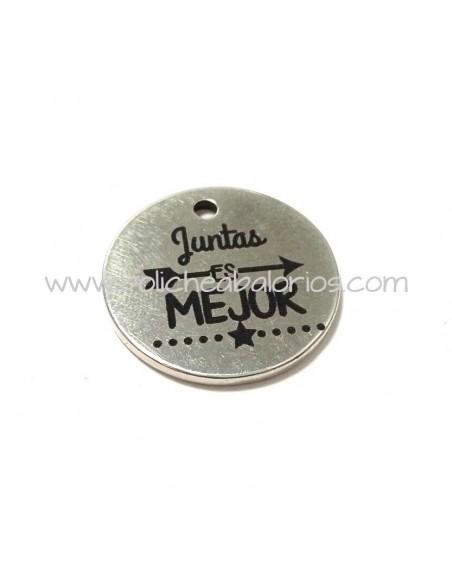 Moneda Juntas es Mejor 21mm Zamak