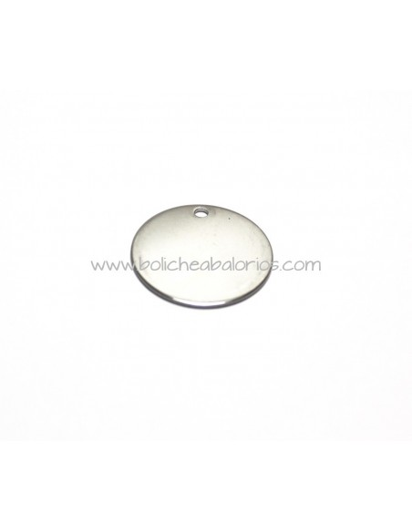 Moneda 30mm Acero Inoxidable para Grabar