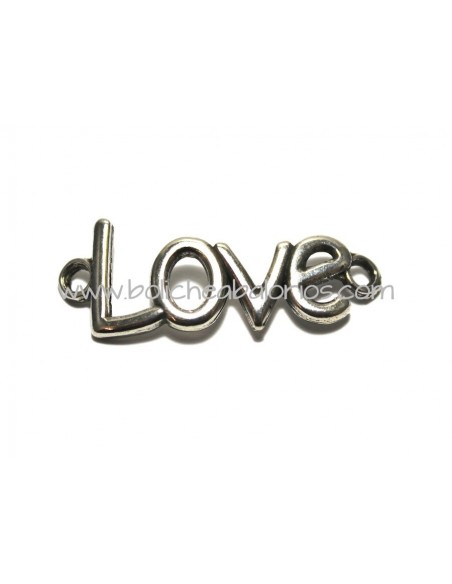 Conector Letras Love 40mm Zamak