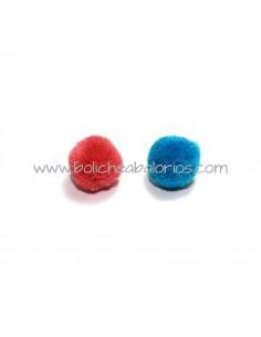 Pompón de Colores 15 mm