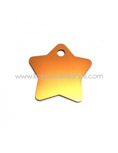 Estrella aluminio 28 mm