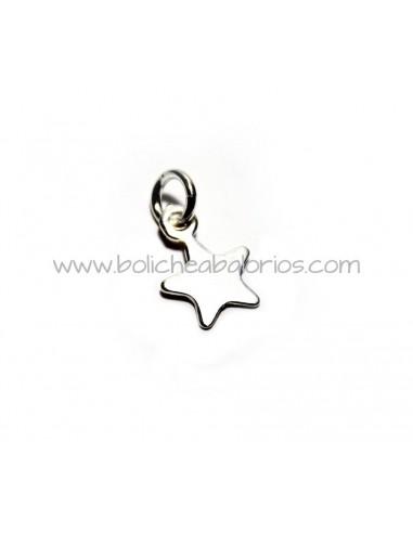 ventas calientes especial para zapato comprar Colgante Estrella Abalorios y Joyas Plata de Ley 925