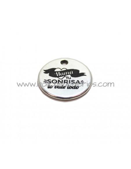 Moneda Sonrisa 21mm Zamak