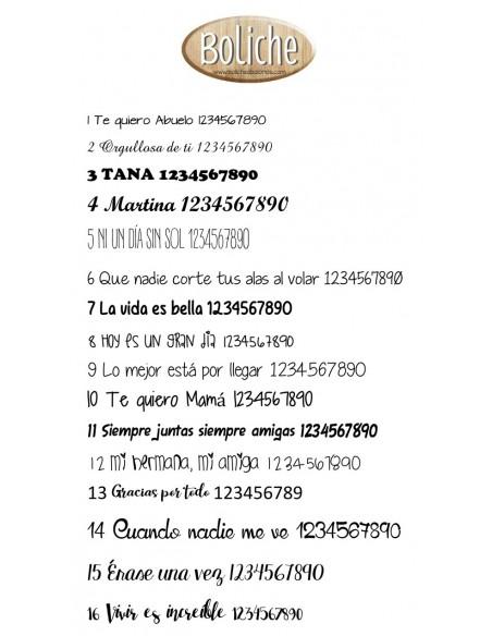 Servicio de grabacion de 1 nombre sencillo