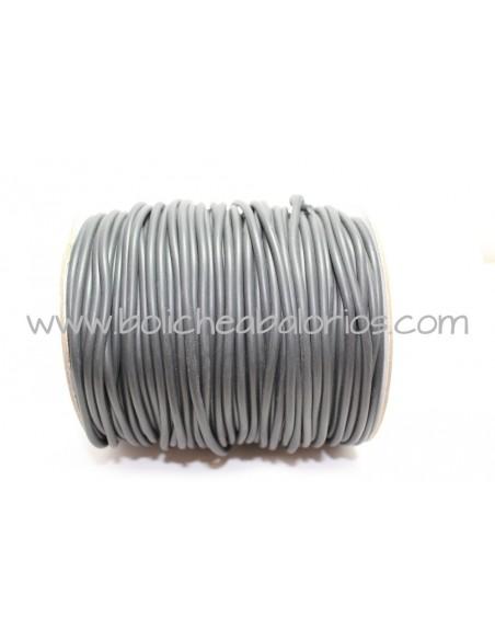 Cordón de Caucho 3mm Negro