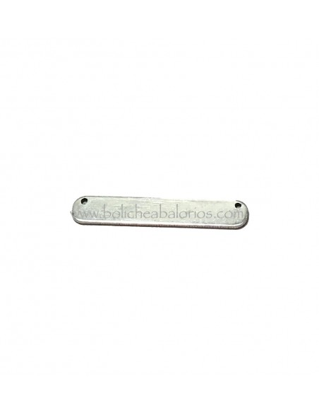 Conector Rectangular 35mm Latón para Grabar