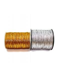 Cordón Elástico Metalizado de 2mm