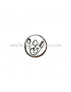 "Moneda ""Amigas Forever"" 20mm Zamak"