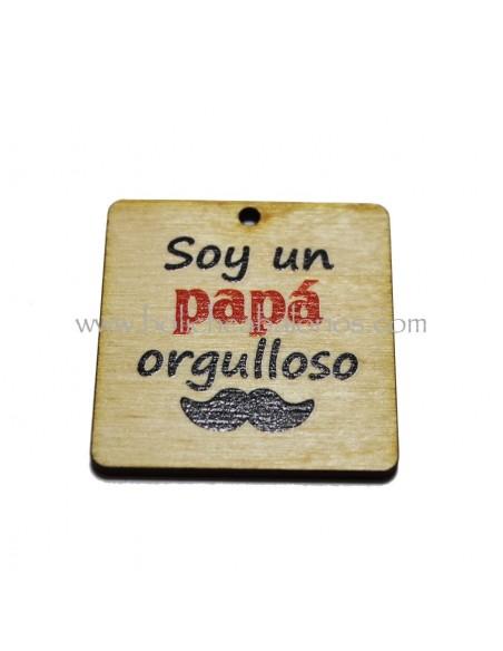 Placa para papa en madera