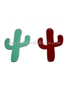 Colgante Cactus 70mm Metacrilato