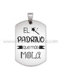 Placa Llavero Padrino y Madrina