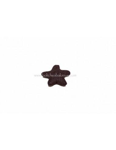 Estrella de lava porosa grande