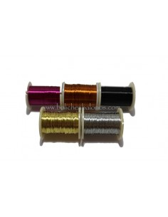 Hilo metálico 0.25 mm para manualidades
