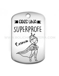 Placa llavero SUPERPROFE