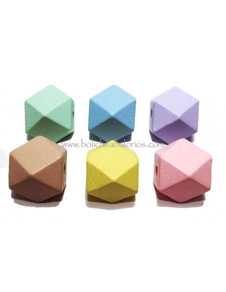 Hexagono de Madera 16mm
