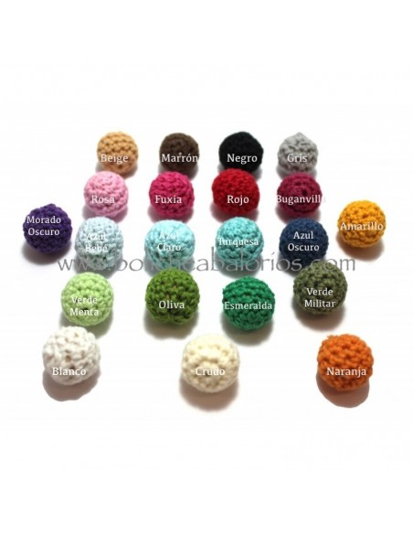 Bola de Crochet 15mm Chupeteros