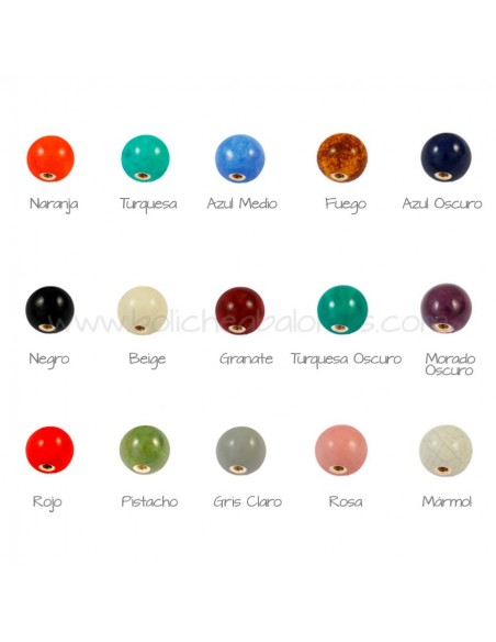 Bolas de Cerámica de Colores
