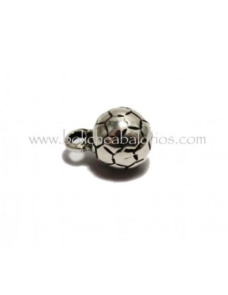 Colgante Balon 10mm Futbol Zamak