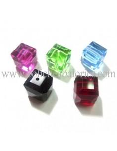 Cubo 4 mm Cristal de Swarovski