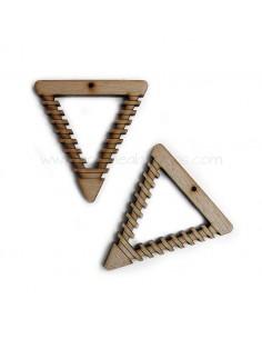Colgante Triangulo de Madera 60mm