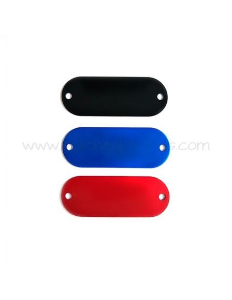 Placa Conector de Colores para Personalizar de Aluminio