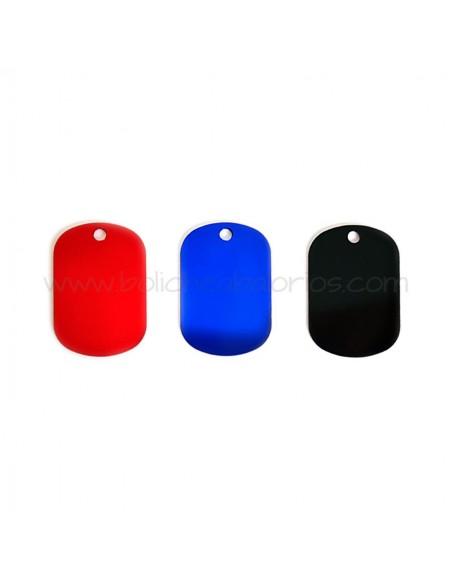 Placas de Colores para Personalizar de Aluminio