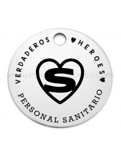 """Medalla Redonda """"Sin Profes Como Tú"""""""