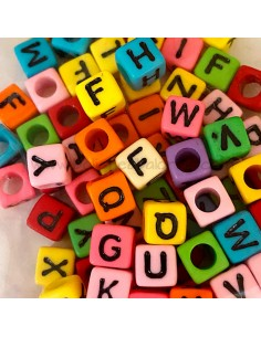 Letras en Cubo Colores -...
