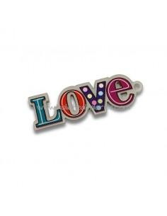 Colgante LOVE acrilico