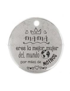 Medalla Mamá la mejor del...