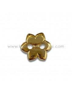 Botón en forma de flor